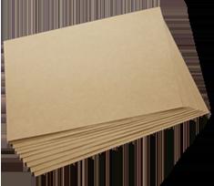 Separatori carton ondulat in 3 straturi