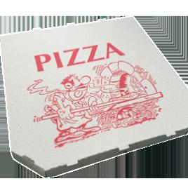 Cutii pizza 21x21x3cm