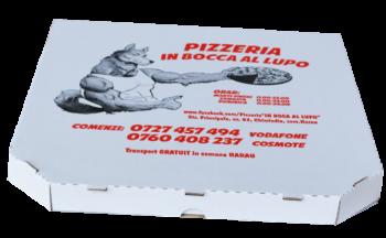 Cutii pizza 32x32x3 alb