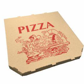 Cutii pizza 28x28x3cm natur